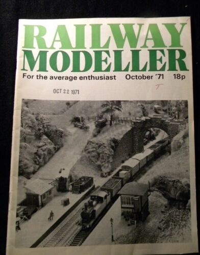 Railway Modeller 1971 October Warehouses Storage sheds Midland RY Signals