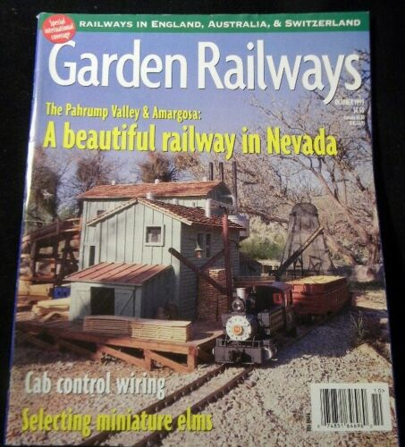 Garden Railways Magazine 1999 October Cab Control wiring Elms Battery Power