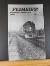 Flimsies West Issue #77 August 15, 1989 News Magazine of Western Railroading