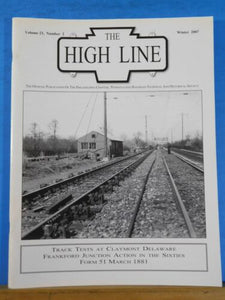 High Line Magazine V23 #2 2007 Winter Track Tests at Claymont Frankfort Jct