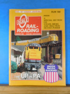 O Scale Railroading #100 UP in PA Special section steam diesel traction motive p