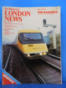 Illustrated London News 1982 April The Railways