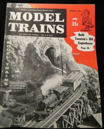 Model Trains 1959 January Add detail to trucks Scenery Diesel locos performance