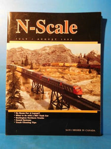 N Scale Magazine 1996 July August Burlington Northern Trucks
