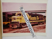 Photo Santa Fe Locomotive #6600 8 X 10 Color Argentine KS 1973