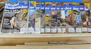 Model Railroader Magazine Complete Year 2009 12 issues