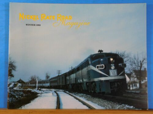 Nickel Plate Road Magazine 1992 Winter 19 Pages NKP Carrying the mail