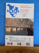 American Railway Engineering Association Bulletin 686 Feb 1982 Volume 83