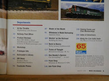 Model Railroader Magazine 1999 August Building resin freight cars RR Fiction Rio