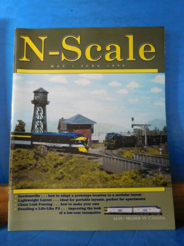 N Scale Magazine 1999 May June Chain Link Fencing Milwaukee Enginehouse