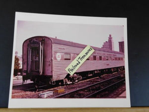Photo Seaboard Coast Line Passenger car Pullman Tampa 8X10 Color