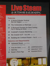 Live Steam Magazine 2019 May June & Outdoor Railroading 7 cyl hot air engine