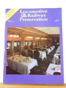 Locomotive & Railway Preservation #41 1993 May June Cranbrook's Wheels of Luxur