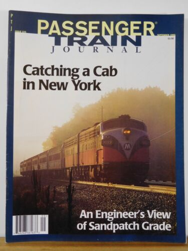 Passenger Train Journal #225 1996 Sept Engineer's View of Sandpatch Grade