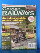 Garden Railways Magazine 2009 AprilMake miniature stone walls Stiars for your st