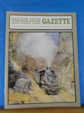 Narrow Gauge & Short Line Gazette 1987 March April V&T Wooden water Car Telephon