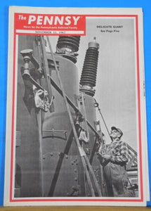 Pennsy Employee Magazine, The 1967 November 15 Fastest phone on wheels New Penn