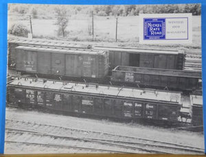 Nickel Plate Road Magazine 1979 Winter FREIGHT CAR ROSTER