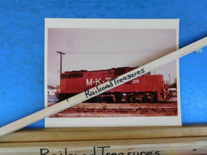 Photo M-K-T Railway Locomotive #215 8 X 10 Color Katy Fort Worth TX 1974