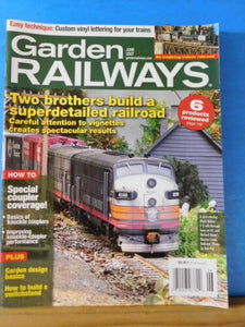 Garden Railways Magazine 2007 June Build a switchstand Couplers