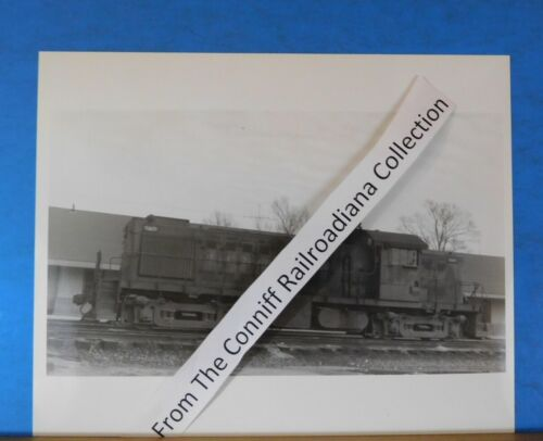 Photo Gulf Mobile & Ohio Locomotive #1117 8X10 B&W GM&O