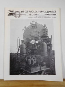 Blue Mountain Express 1986 Summer Western Maryland Railway Historical Sociery
