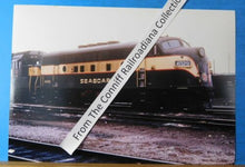 Photo Seaboard Locomotive #4029 8 X 11.5 Color