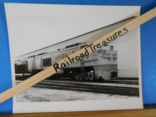 Photo Union Pacific Locomotive #8 UP 8 X 10 B&W