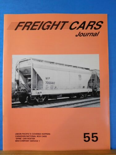 Freight Cars Journal #55 UP covered hoppers CN Box Spine cars roster