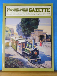 Narrow Gauge & Short Line Gazette 1991 May June D&RGW Stone walls Maine Central