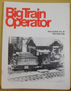 Big Train Operator #49 1988 Winter Truss Bridge You Can Build