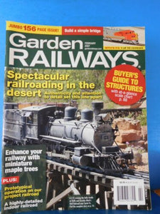 Garden Railways Magazine 2007 February Miniature Maple Trees Spectacular Rring i