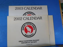 Great Northern Railway Historical Society Calendar Lot of 5 2000, 2002-04, 2006