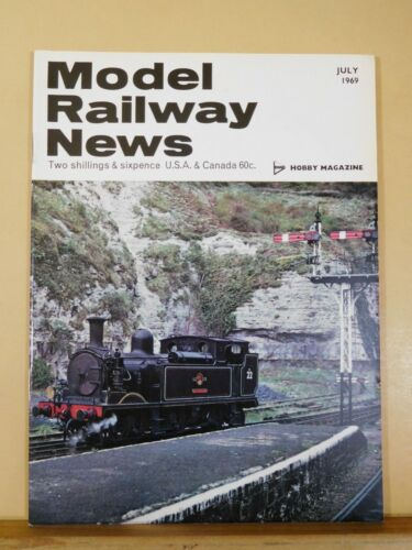 Model Railway News 1969 July Engineer's Department wagons LNWR coach formations