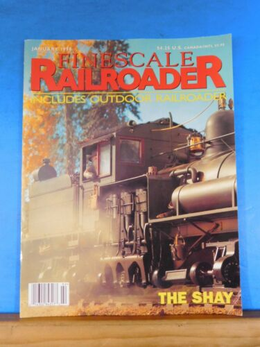 Finescale Railroader 1998 January The Shay