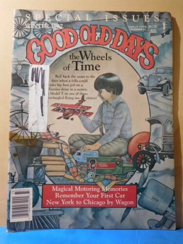 Good Old Days 1987 Winter Special Issues The Wheels of Time Streetcar Train wrec