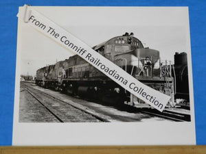 Photo Seaboard Coast Line Locomotive #128 8X10 B&W