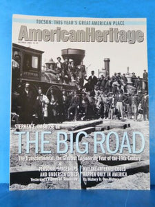 American Heritage Magazine 2000 October The Transontinental The Big Road