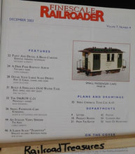 Finescale Railroader 2003 December Small passenger Cars kitbashing