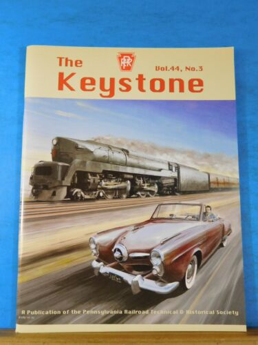 Keystone PRR T&HS Magazine 2011 Autumn V44 #3 Steam & Norfolk Southern PArk Towe