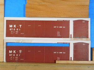 HO Model Railroad Car Kit MKT Automobile Box Car #R7 Vintage