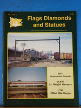 Flags Diamonds and Statues Vol 11 #1 1993 #40 Anthracite RRs Doylestown Branch R
