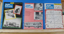 Model Railroader Magazine Complete Year 1954 12 issues
