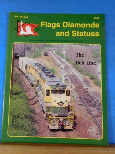 Flags Diamonds and Statues Vol 14 #2 1999 #51 Anthracite HS LV Composite Gondola