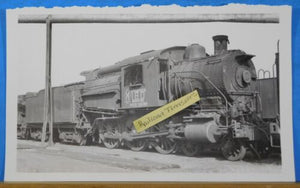 Photo CNJ Locomotive #180 authorized for dismantling Switch together 5x8