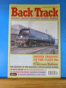 Back Track Magazine 1994 Sept Oct Britain Railway History