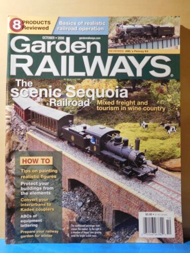 Garden Railways Magazine 2006 October The Scenic Sequoia Railroad