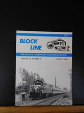 Block Line NRHS 1988 Aug PRR Bridges New Brunswick NJ