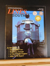 Lines South SAL ACL 2000 3rd quarter V17#3 Observation cars Waycross GA