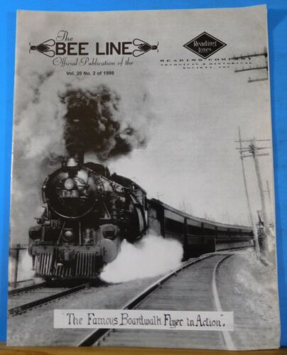 Bee Line Reading Co Historical Society 1998 Vol 20 #2 Boardwalk Flyer